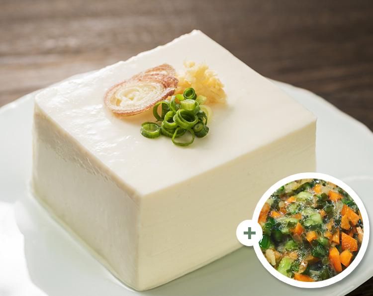 「だし」と豆腐